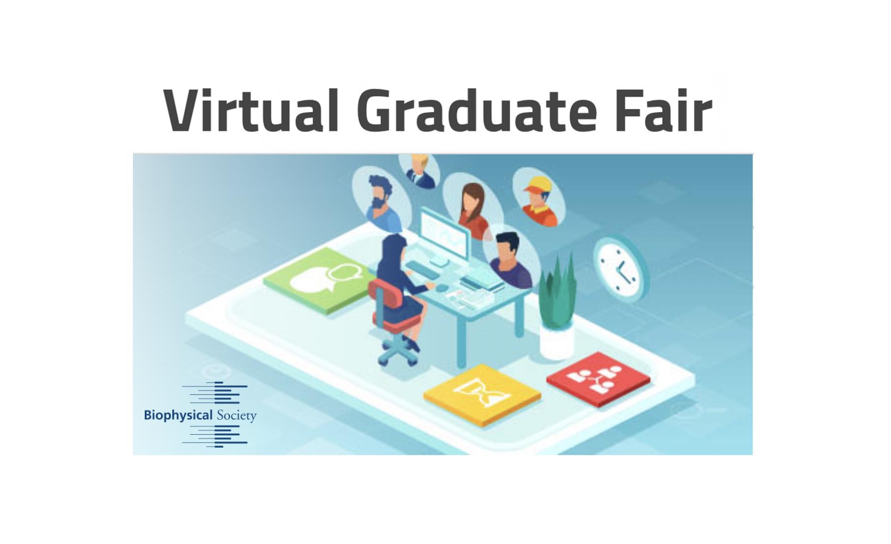 Free virtual graduate fair held by the Biophysical Society (Nov 11/12, 2021)